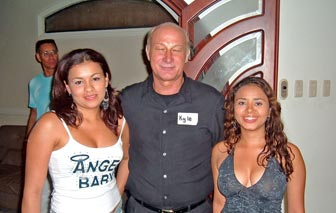 A man with lovely Barranquilla girls